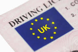 Image of UK driving licence