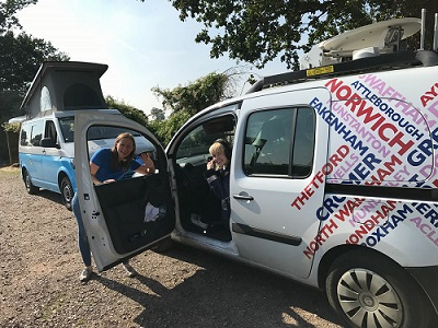 Radio Norfolk finds Capricorn Campers